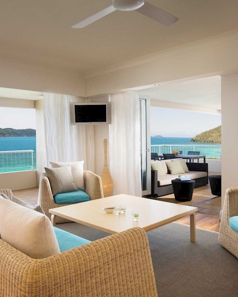 One Bedroom Terrace Suite Reef View Hotel Hamilton Island