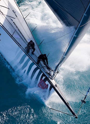 Yachts racing the Whitsundays - Audi Hamilton Island Race Week